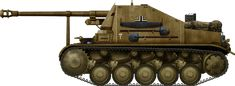 Marder II Ausf.C, Afrika Korps, Tunisia, 1943