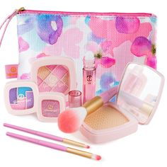 Amazon.com: Makeup Set For Children by Glamour Girl - Pretend Play Make up Kit - Great For Little Girls & Kids: Toys & Games