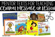 Find the perfect mentor text for teaching theme, central message, moral, or lesson.