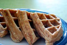 Banana Peach Waffles | Strawberry Pepper