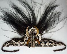 alter KOPFBEDECKUNG / KRONE der ASMAT, NEUGUINEA, ritual headdress, coiffe