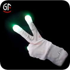 2 fingers Led Flashing Light Glove For Christmas, View 2 fingers Led Flashing Light Glove For Christmas, GF Product Details from Shenzhen Gr...