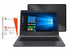 """Notebook Positivo Stilo One XC3570 Intel Quad Core - 32GB Flash LED 14"""" + Pacote Office 365 Personal"""