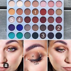 Jaclyn Hill x Morphe palette Jaclyn Hill x Morphe palette Natural smokey eye with Jaclyn Hill x Morphe palette<br> Jaclyn Hill Palette, Jacklyn Hill Palette Looks, Jaclyn Hill Eyeshadow Palette, Natural Eyeshadow Palette, Smokey Eye Makeup, Skin Makeup, Eyeshadow Makeup, Blue Eyeshadow, Everyday Eyeshadow