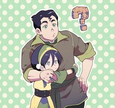 toph and bolin!!