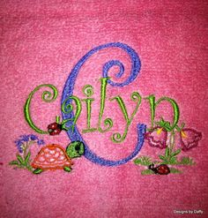 Kids Personalized Hooded Bath Towel by DesignsbyDaffy on Etsy, $22.00