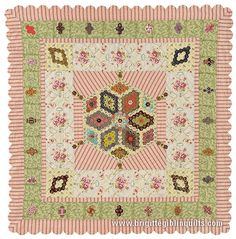 Brigitte Giblin Quilts and patchwork patterns for hand quilting and machine quilts using appliqué and paper piecing