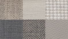 Leather and fabrics: highly selected cover materials