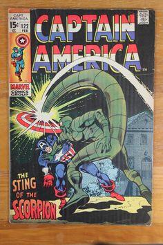 "- ""The Sting of the Scorpion"" - First Appearance of: Man-Brute - Bronze Age: February 1970 - Cover Artists: Gene Colan / Joe Sinnott - Artist: Gene Colan - Inker: Joe Sinnott - Writer: Stan Lee - Cond"
