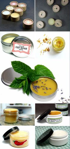 Homemade Healing Winter Salve Recipes - Protect your skin - and even lips! - with any one of these wonderful 14 healing homemade winter salve recipes.