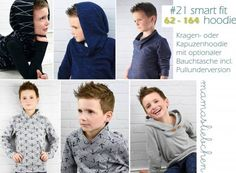 "E-Book ""#21 smart fit hoodie (62-164)"" von mamasliebchen (digital)"