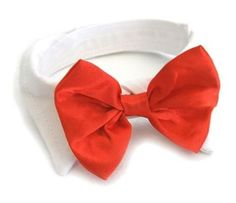 5f8fe76f3e67 Satin Bow Tie and Dress-up Collar Bundled Set Comes with 4 Holiday Bow Ties