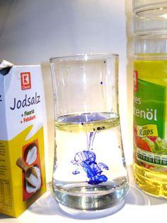 Wasser und Öl