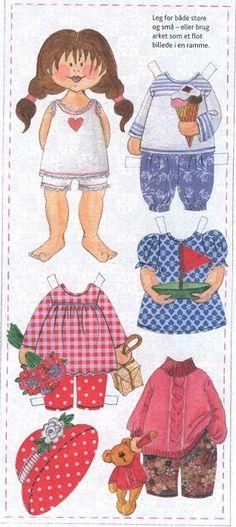 Paper Doll from Danish magazine