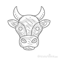 cow head coloring page - sleeping baby pig nothin 39 but pigs part 3