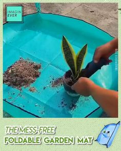 Must Have Gadgets, Cool Gadgets To Buy, Container Gardening, Gardening Tips, Garden Mats, Buddha Quotes Inspirational, Cheap Landscaping Ideas, Great Housewarming Gifts, Plant Care