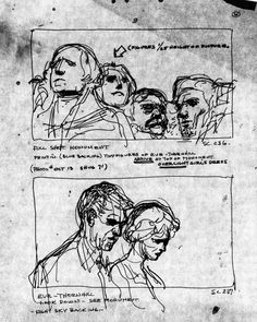 STORYBOARDS FROM THE FILMS OF ALFRED HITCHCOCK