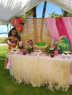Moana Birthday Party Ideas | Photo 1 of 16