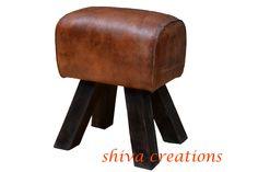 gymnastics leather stool India.