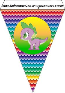 My Little Pony: {free} printables. Right click and save as (site is in spanish) My Little Pony Party, Fiesta Little Pony, Cumple My Little Pony, My Lil Pony, Rainbow Dash Party, Rainbow Theme, Free Printable Invitations, Free Printables, Printable Banner