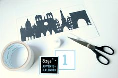 Free Download: Template for Paris Tealight Holder