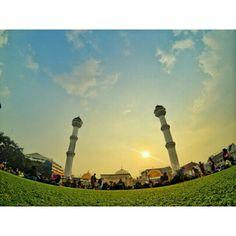 The calm breeze of our lord #yicambandung #bandung #bandungjuara #mesjidagungbandung