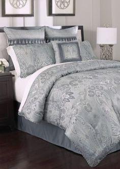croscill bradney chenille jacquard woven damask 4 piece comforter set by croscill damasks comforter and bath