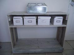 console en palettes recycl es maison artur stiles palettes recup pinterest recherche. Black Bedroom Furniture Sets. Home Design Ideas