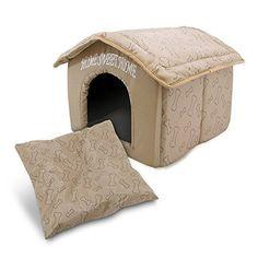Dog Cat Bed Cute House Pet Portable Indoor Soft Comfort Puppy Decor Cozy Travel  #BestPetSuppliesInc