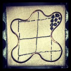 Layout plan, fantasy shape zig zag pave coming soon! #lorafojohn #goudsmid #goldsmith #gullsmed #guldsmed #guldsmed #orafo #orfèvre #orfebre #instajewelrygroup #stonesetting #layout #pave