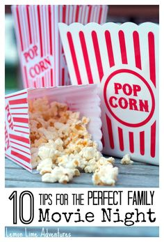 The family movie night can be a more meaningful experience for the whole family. Check out this list of 10 easy tips for the perfect movie night and try them out!