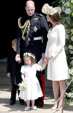 The family outing is Kate, George and Charlotte's first public appearance since Prince Harry and Meghan's wedding