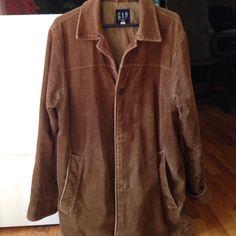 Gap Corduroy Jacket size Small. Mens. Gap Corduroy Jacket size Small. Light Brown/tan wide Corduroy. Mens. GAP Jackets & Coats