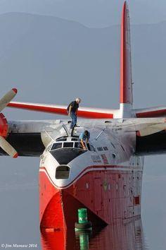 Martín Mars flying boat.
