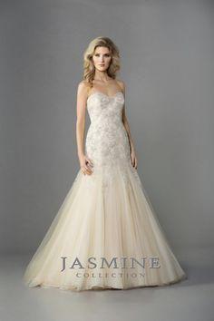 "Jasmine Collection ""In Stock"" Wedding Dress - Style F161057"