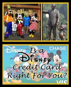 Have you ever thought about a Disney credit card? Here's what you need to know to decide if it's right for you!