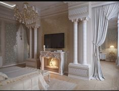 Royal Bed, Bedroom, Interior, Beautiful, Beds, Home Decor, Decoration Home, Indoor, Room Decor