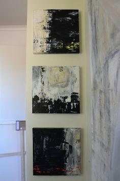 Original Urban Abstract Texture Paintings by ABSTRACTSbySabina