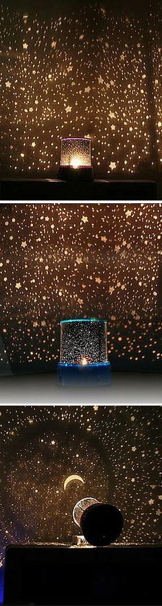 sterrenhemel projector kleurrijke LED-nachtlampje (willekeurige kleur…