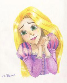 Rapunzel+by+Rainbubbles1011.deviantart.com+on+@deviantART