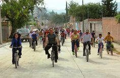 Se lleva a cabo la rodada ciclista municipal en la comunidad de Refugio de Peñuelas ~ Ags Sports