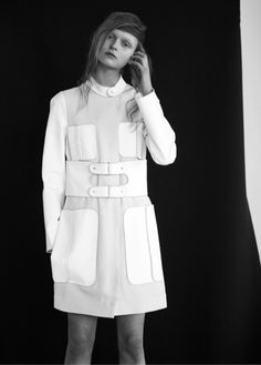 rounded pockets. Anni Jürgenson by Chris Vidal for SSAWSpring/Summer 2013
