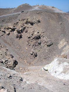 Scary crater, Nea Kameni