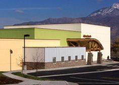 multi-level building exterior