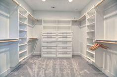 Modern/ Contemporary Home - contemporary - Closet - Houston - Built Green Custom Homes