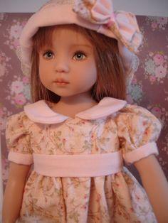Robe Romantique Pour Poupée Little Darling DE Dianna Effner | eBay
