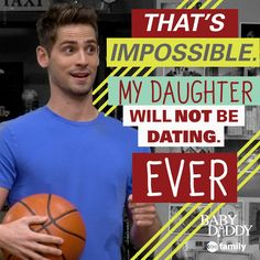 Protective much? | Baby Daddy Quotes