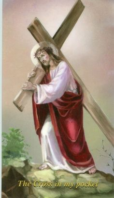 Jesus Carring his cross for us Sinners. Jesus Christ Quotes, Jesus Christ Images, Pictures Of Christ, Jesus Art, Religious Pictures, Jesus Christus, Christian Images, Christ The King, Jesus On The Cross