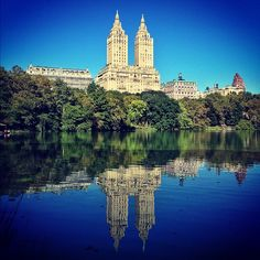 Central Park - The Lake #NYC