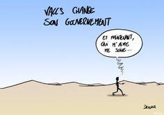 25/08/14 - Démission du gouvernement Valls : La réaction du dessinateur Xavier Delucq